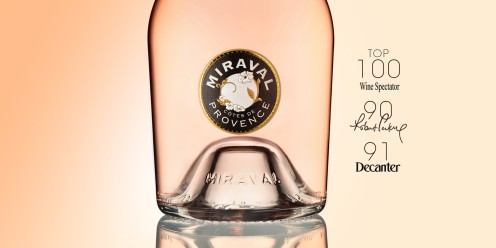 Angelina Jolie and Brad Pitt's Miraval Rose